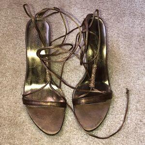 Jacqueline Ferrar Strappy Heels